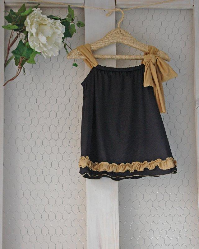 Blusa Negra dorado 19