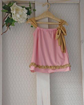 Blusa Rosa dorado 19